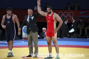 London2012Freestyle Wrestling120kgMakhov Magomedov (40).jpg