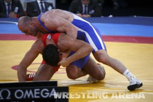 London2012Freestyle Wrestling120kgTaymazov Matuhin  (50).jpg