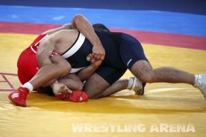 London2012 Freestyle Wrestling 84kg Gattsiev Louafi (29).jpg