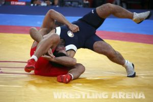 London2012 Freestyle Wrestling 84kg Gattsiev Louafi (31).jpg