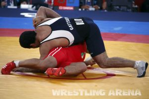 London2012 Freestyle Wrestling 84kg Gattsiev Louafi (34).jpg