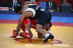 London2012 Freestyle Wrestling 84kg Gattsiev Louafi (36).jpg