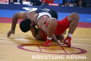 London2012 Freestyle Wrestling 84kg Gattsiev Louafi (40).jpg