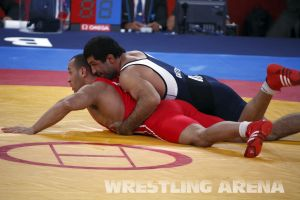 London2012 Freestyle Wrestling 84kg Gattsiev Louafi (41).jpg