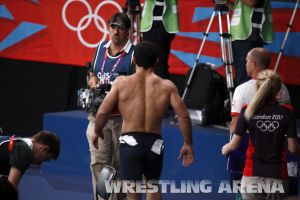 London2012 Freestyle Wrestling 84kg Gattsiev Louafi (57).jpg
