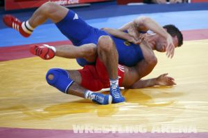 London2012FreestyleWrestling60kgAsgarov Schleicher (12).jpg