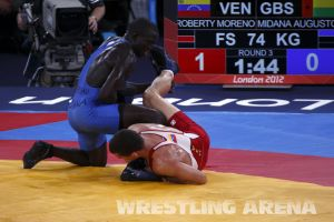 London2012FreestyleWrestling74kgMidana Roberty (13).jpg