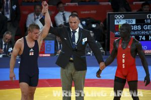 London2012FreestyleWrestling74kgKhutsishvili Midana (14).jpg