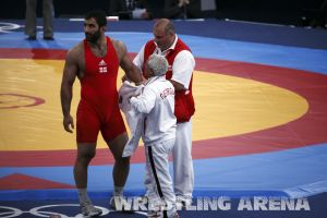 London2012GrecoRomanWrestling120kgPherselidze Ayub (11).jpg