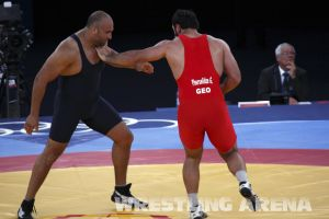 London2012GrecoRomanWrestling120kgPherselidze Ayub (12).jpg