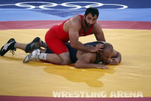 London2012GrecoRomanWrestling120kgPherselidze Ayub (14).jpg
