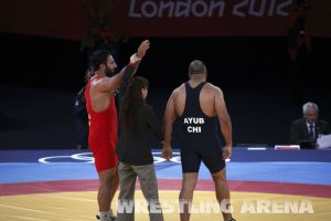 London2012GrecoRomanWrestling120kgPherselidze Ayub (17).jpg
