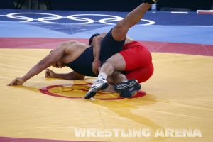London2012GrecoRomanWrestling120kgPherselidze Ayub (3).jpg