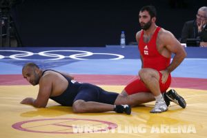 London2012GrecoRomanWrestling120kgPherselidze Ayub (6).jpg