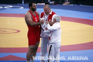 London2012GrecoRomanWrestling120kgPherselidze Ayub (9).jpg