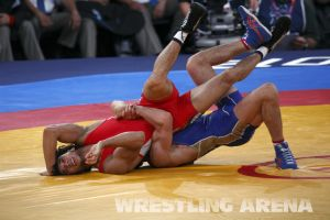 London2012GrecoRomanWrestling60kgKuramagomedov Hamed (10).jpg