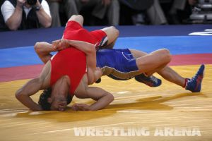 London2012GrecoRomanWrestling60kgKuramagomedov Hamed (13).jpg