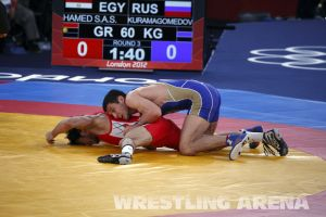 London2012GrecoRomanWrestling60kgKuramagomedov Hamed (14).jpg