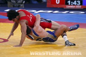 London2012GrecoRomanWrestling60kgKuramagomedov Hamed (15).jpg