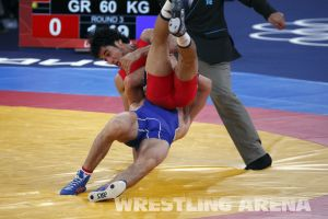 London2012GrecoRomanWrestling60kgKuramagomedov Hamed (18).jpg