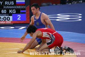 London2012GrecoRomanWrestling60kgKuramagomedov Hamed (20).jpg