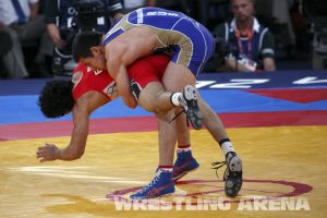 London2012GrecoRomanWrestling60kgKuramagomedov Hamed (3).jpg
