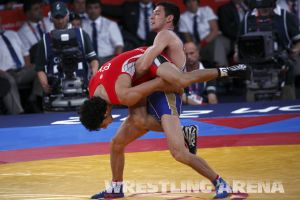 London2012GrecoRomanWrestling60kgKuramagomedov Hamed (5).jpg