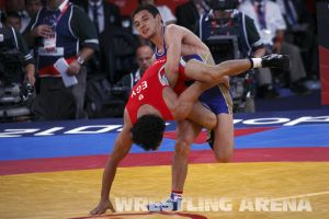 London2012GrecoRomanWrestling60kgKuramagomedov Hamed (8).jpg