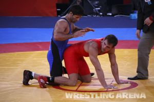 London2012OlympicGRWrestling66kg (11).jpg