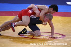 London2012OlympicGRWrestling66kg (15).jpg