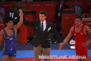 London2012OlympicGRWrestling66kg (29).jpg