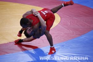 London2012OlympicGRWrestling66kg (42).jpg